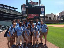 Leisure Club Staff at Comerica