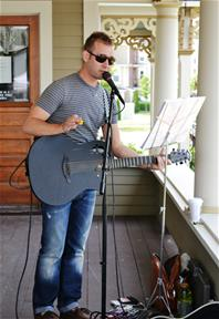 Porch Music at Farmers Market