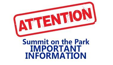 Important Summit on the Park Information Alert