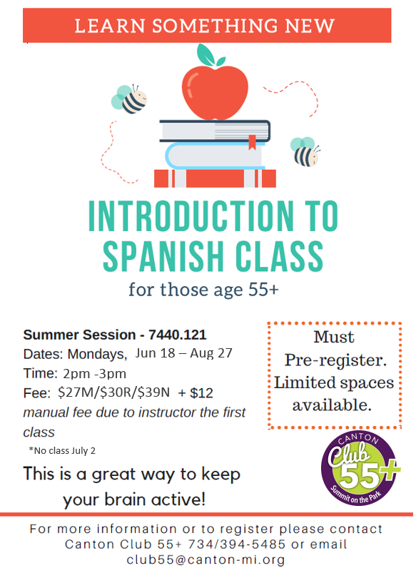 Learn Spanish Summer Session